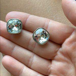 Swarvoksi crystal stud earrings